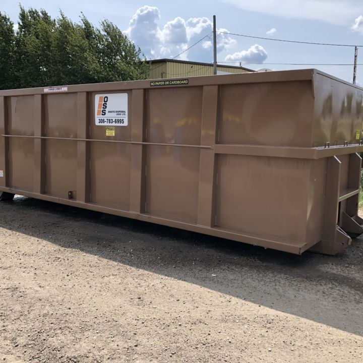 Rural Scrap Metal Container Rental and Hauling